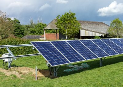 Commercial Solar Panel Installation – Romshed Farm, Sevenoaks
