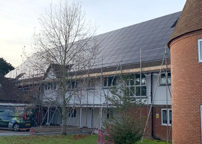 Commercial Solar Panel Installation – Demelza House, Sittingbourne