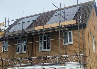 Solar Panel Installation for Broadlands Housing Group