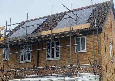 Solar Panel Installation for Broadlands Housing Group