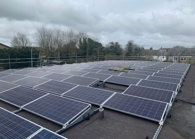 Solar PV System – Flat Roof Installation for NHS, Coxheath