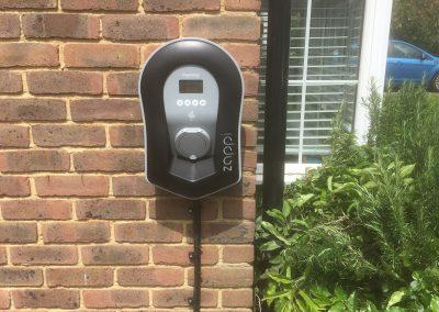 Zappi EV installation, Paddock Wood, Kent