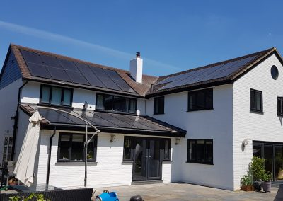 A truly modern and attractive home PV system, power your house and 2 electric vehicles!