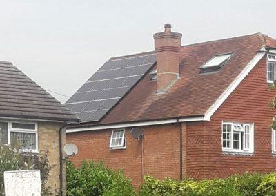 Split PV System in Hamstreet, Kent
