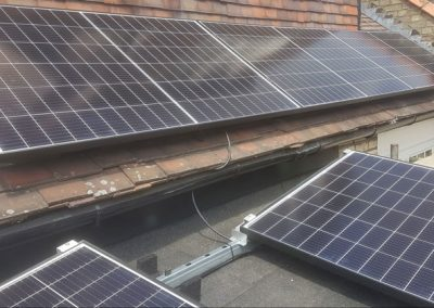 Power optimised PV system in North London