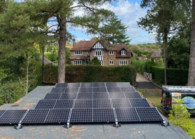 5.52kWp PV Array with TESLA Powerwall II
