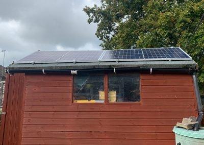 Bexhill 8 Panel Solar PV Installation
