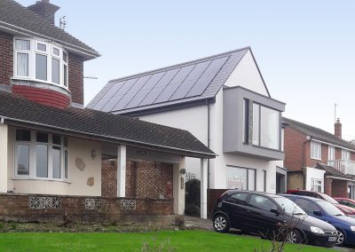 Roof integrated PV, Whitstable