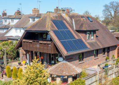 6.8kWp LG Solar & TESLA Powerwall II