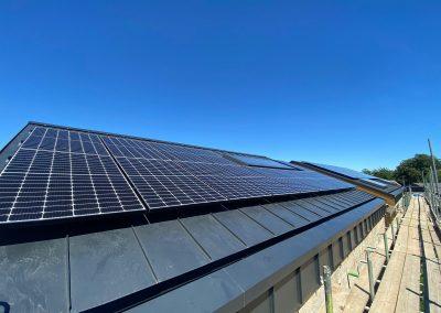 LG on Standing Seam Roof – Epsom