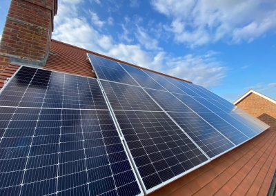 New Home Solar Panel System, Headcorn